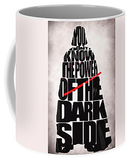 Star Wars Inspired Darth Vader Artwork Coffee Mug by Ayse Deniz