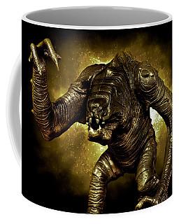 Star Wars Rancor Monster Coffee Mug by Nicholas  Grunas