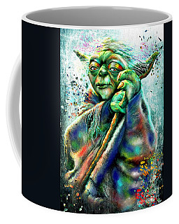 Star Wars Yoda Coffee Mug