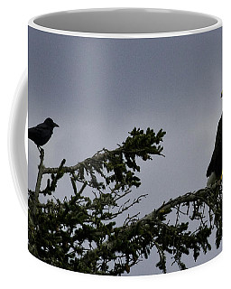 Coffee Mug featuring the photograph Stare Down by Betty Depee