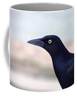 Stare Of The Male Grackle Coffee Mug