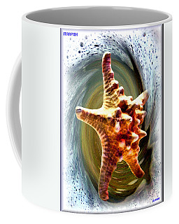 Coffee Mug featuring the digital art Starfish by Daniel Janda