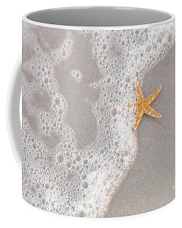 Starfish In The Surf Coffee Mug