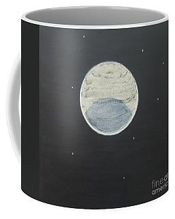 Coffee Mug featuring the painting Starlight by Mini Arora