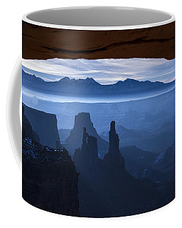Coffee Mug featuring the photograph Starlit Mesa  by Dustin  LeFevre