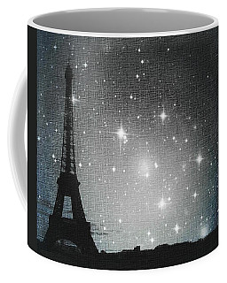 Starry Night In Paris - Eiffel Tower Photography  Coffee Mug