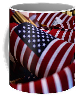 Coffee Mug featuring the photograph Stars And Stripes by John S