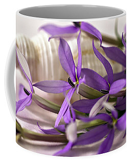Starshine Laurentia Flowers And White Shell Coffee Mug