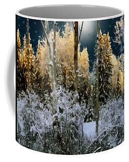 Starshine On A Snowy Wood Coffee Mug