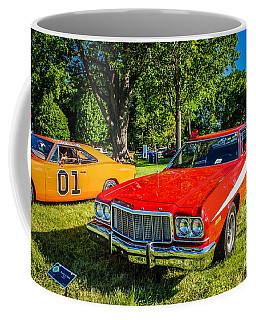 Starsky And Hutch Ford Gran Torino Coffee Mug