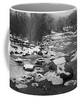Starting To Freeze  Coffee Mug