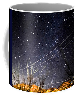 Stars Drunk On Lightpaint Coffee Mug