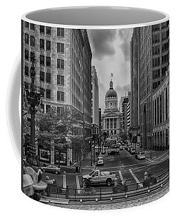Coffee Mug featuring the photograph State Capitol Building by Howard Salmon