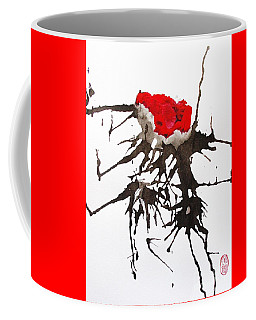 Coffee Mug featuring the painting State Of Symbiosis by Roberto Prusso