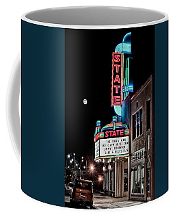 Coffee Mug featuring the photograph State Theater by Jim Thompson
