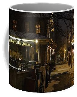 Station In Snow Coffee Mug