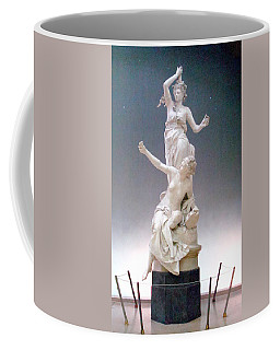 Statue In Paris Coffee Mug by Kay Gilley