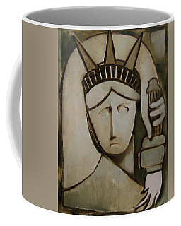 Tommervik Abstract Statue Of Liberty Art Print Coffee Mug