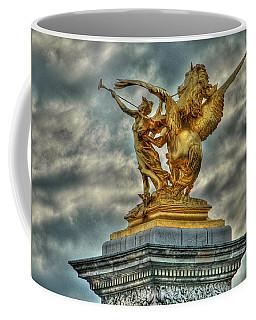 Statue On Pont Alexandre IIi Coffee Mug