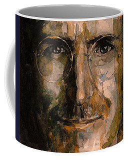 Coffee Mug featuring the painting Steve... by Laur Iduc