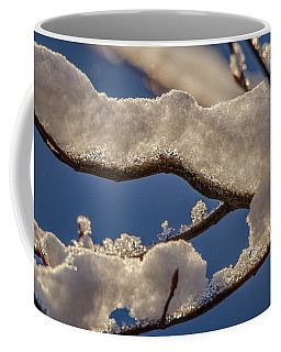 Coffee Mug featuring the photograph Staying Warm by Steven Santamour