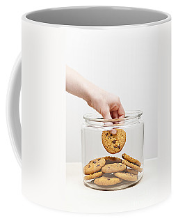 Stealing Cookies From The Cookie Jar Coffee Mug