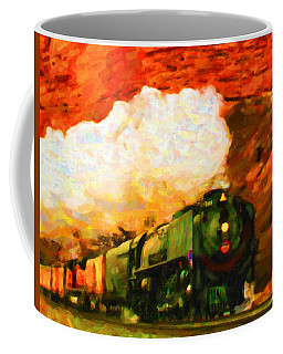 Steam And Sandstone Coffee Mug