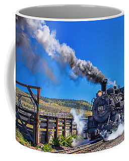 Steam Engine Relic Coffee Mug by Steven Bateson