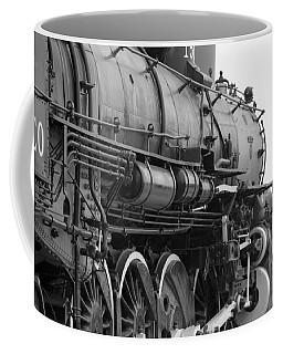 Steam Locomotive 1519 - Bw 02 Coffee Mug by Pamela Critchlow