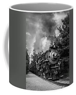 Steam On The Rails Coffee Mug