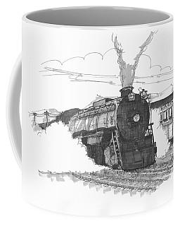 Steam Town Scranton Locomotive Coffee Mug