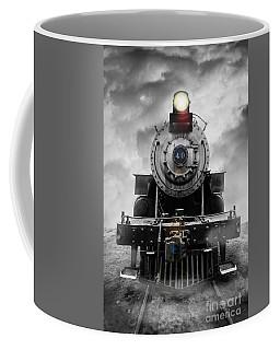 Steam Train Dream Coffee Mug by Edward Fielding
