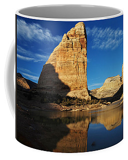 Steamboat Rock In Dinosaur National Monument Coffee Mug by Nadja Rider