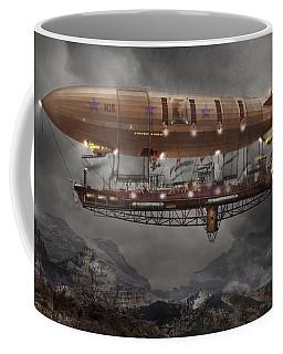 Steampunk - Blimp - Airship Maximus  Coffee Mug