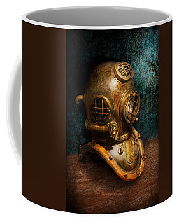 Steampunk - Diving - The Diving Helmet Coffee Mug