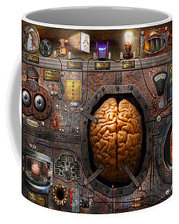 Steampunk - Information Overload Coffee Mug