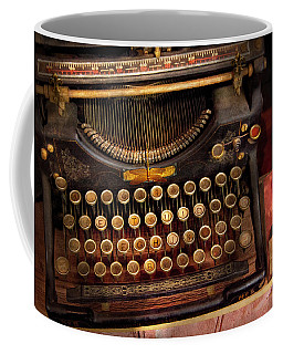 Steampunk - Just An Ordinary Typewriter  Coffee Mug