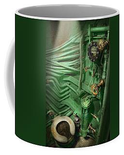 Steampunk - Naval - Plumbing - The Head Coffee Mug
