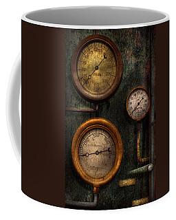 Steampunk - Plumbing - Gauging Success Coffee Mug