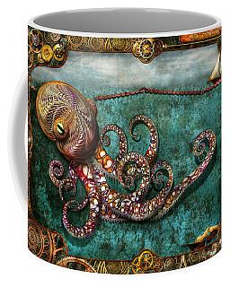Steampunk - The Tale Of The Kraken Coffee Mug