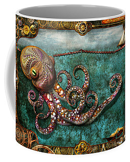 Steampunk - The Tale Of The Kraken Coffee Mug
