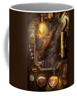 Steampunk - Victorian Fuse Box Coffee Mug