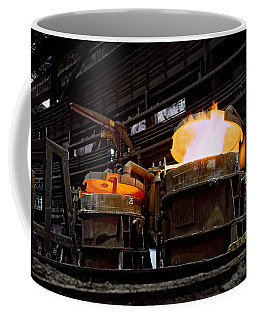 Steel Industry In Smederevo. Serbia Coffee Mug