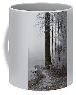 Coffee Mug featuring the photograph Steep And Frost by Felicia Tica