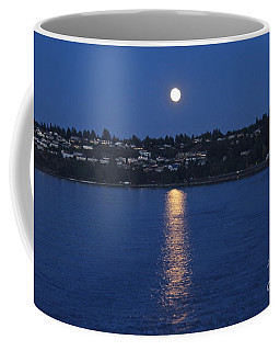 Steilacoom Moonrise Coffee Mug