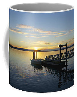 Coffee Mug featuring the photograph Steilacoom Wharf by Sean Griffin