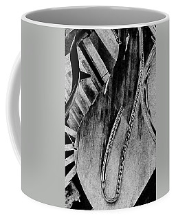 Steinway Black And White Inners Coffee Mug