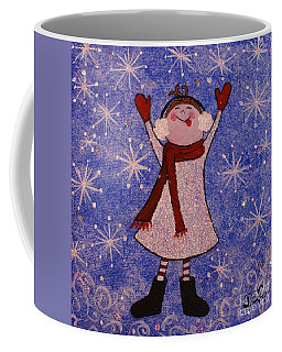 Stella And Snowflake Kisses Coffee Mug