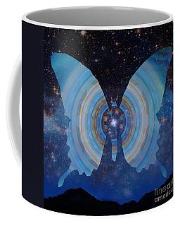 Stellar Butterfly Coffee Mug