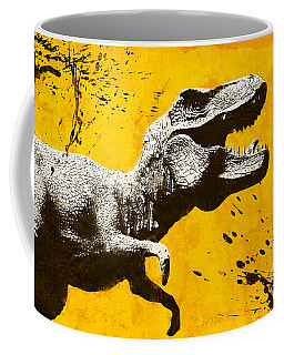 Stencil Trex Coffee Mug